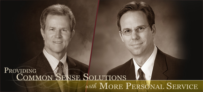 Providing Common Sense Solutions with More Personal Service